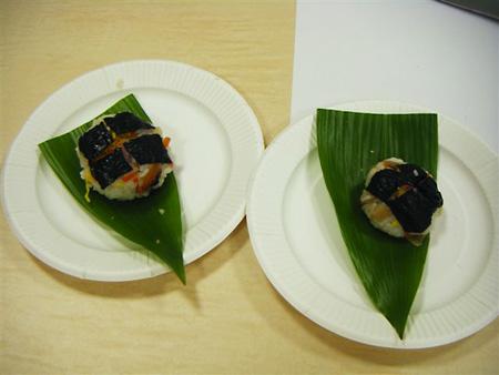 手巻寿司 ・ 手鞠寿司作り
